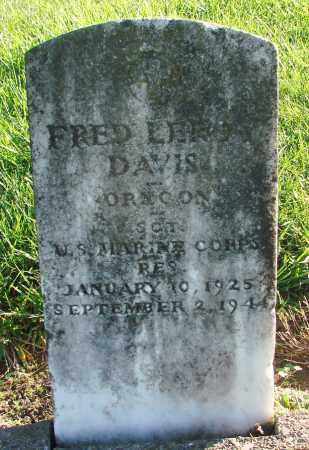 DAVIS, FRED LEROY - Polk County, Oregon | FRED LEROY DAVIS - Oregon Gravestone Photos