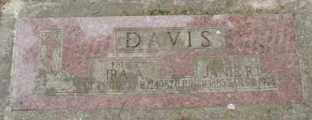 DAVIS, JANIE R - Polk County, Oregon | JANIE R DAVIS - Oregon Gravestone Photos