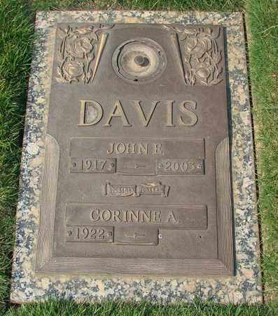 DAVIS, CORINNE A - Polk County, Oregon | CORINNE A DAVIS - Oregon Gravestone Photos