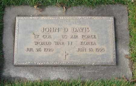 DAVIS, JOHN DONALD - Polk County, Oregon | JOHN DONALD DAVIS - Oregon Gravestone Photos