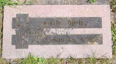 DAVIS, KATIE - Polk County, Oregon | KATIE DAVIS - Oregon Gravestone Photos
