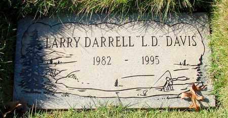 DAVIS, LARRY DARRELL - Polk County, Oregon | LARRY DARRELL DAVIS - Oregon Gravestone Photos