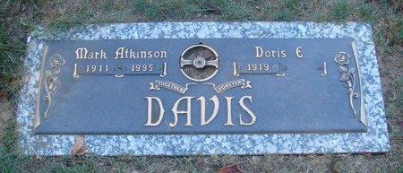 DAVIS, DORIS E - Polk County, Oregon | DORIS E DAVIS - Oregon Gravestone Photos