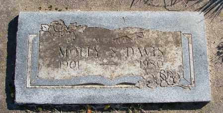 DAVIS, MOLLY S - Polk County, Oregon | MOLLY S DAVIS - Oregon Gravestone Photos