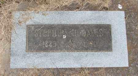 DAVIS, STEPHEN H - Polk County, Oregon | STEPHEN H DAVIS - Oregon Gravestone Photos