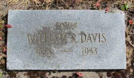 DAVIS, WILLIAM R - Polk County, Oregon | WILLIAM R DAVIS - Oregon Gravestone Photos