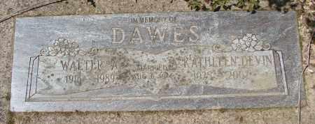 DAWES, WALTER A - Polk County, Oregon | WALTER A DAWES - Oregon Gravestone Photos