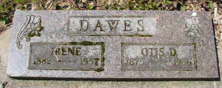 DAWES, IRENE - Polk County, Oregon | IRENE DAWES - Oregon Gravestone Photos
