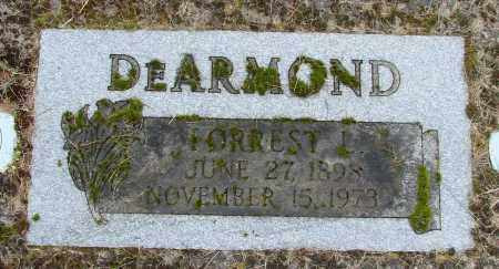 DEARMOND, FORREST L - Polk County, Oregon | FORREST L DEARMOND - Oregon Gravestone Photos