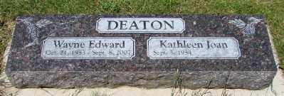 DEATON, KATHLEEN JOAN - Polk County, Oregon | KATHLEEN JOAN DEATON - Oregon Gravestone Photos
