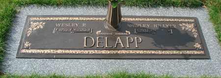 DELAPP, WESLEY FLOYD - Polk County, Oregon | WESLEY FLOYD DELAPP - Oregon Gravestone Photos