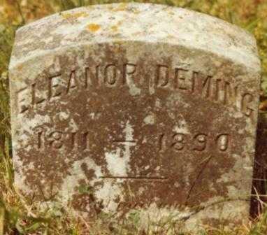 WESTON DEMING, ELEANOR - Polk County, Oregon | ELEANOR WESTON DEMING - Oregon Gravestone Photos
