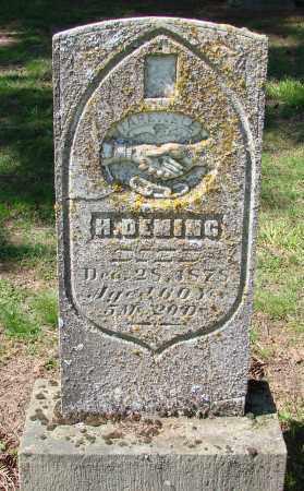 DEMING, HIRAM - Polk County, Oregon | HIRAM DEMING - Oregon Gravestone Photos