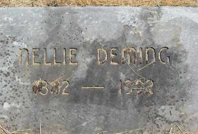 DEMING, NELLIE - Polk County, Oregon   NELLIE DEMING - Oregon Gravestone Photos