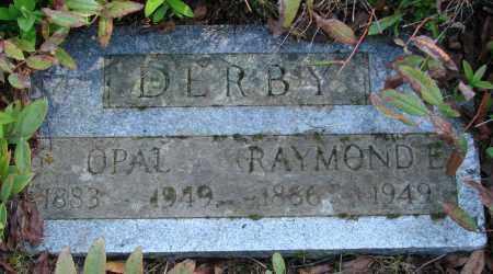 DERBY, OPAL - Polk County, Oregon | OPAL DERBY - Oregon Gravestone Photos