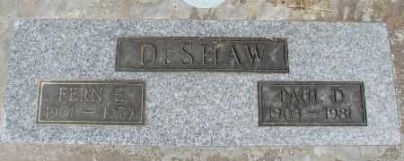 CLANTON DESHAW, ETHEL FERN - Polk County, Oregon | ETHEL FERN CLANTON DESHAW - Oregon Gravestone Photos