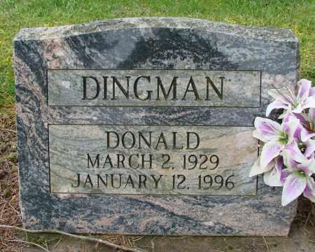 DINGMAN, DONALD - Polk County, Oregon | DONALD DINGMAN - Oregon Gravestone Photos