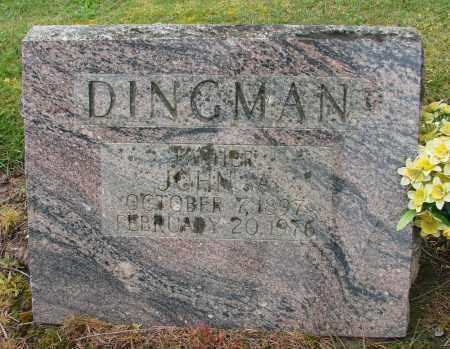 DINGMAN, JOHN ALMIRA - Polk County, Oregon   JOHN ALMIRA DINGMAN - Oregon Gravestone Photos