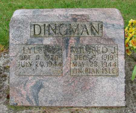 DINGMAN, LYLE G - Polk County, Oregon | LYLE G DINGMAN - Oregon Gravestone Photos