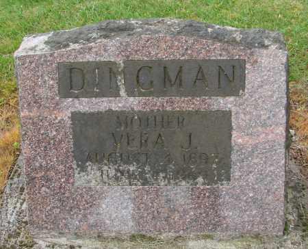 DINGMAN, VERA J - Polk County, Oregon | VERA J DINGMAN - Oregon Gravestone Photos