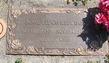 DISKIN, BONNIE LEE - Polk County, Oregon | BONNIE LEE DISKIN - Oregon Gravestone Photos