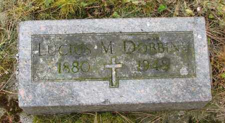 DOBBINS, LUCIUS M - Polk County, Oregon | LUCIUS M DOBBINS - Oregon Gravestone Photos
