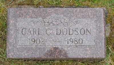 DODSON, CARL - Polk County, Oregon   CARL DODSON - Oregon Gravestone Photos