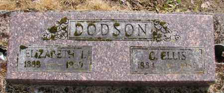 DODSON, ELIZABETH I - Polk County, Oregon | ELIZABETH I DODSON - Oregon Gravestone Photos