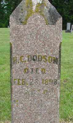 DODSON, H C - Polk County, Oregon | H C DODSON - Oregon Gravestone Photos