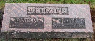 DODSON, OLIVER MCMINN - Polk County, Oregon | OLIVER MCMINN DODSON - Oregon Gravestone Photos