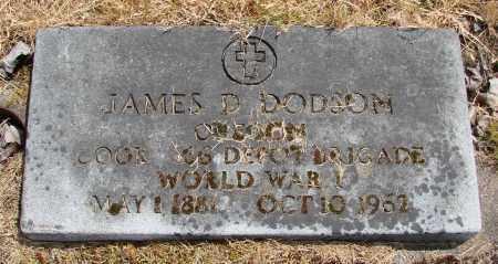 DODSON, JAMES DANIEL - Polk County, Oregon | JAMES DANIEL DODSON - Oregon Gravestone Photos