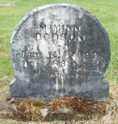 DODSON, MCMINN - Polk County, Oregon | MCMINN DODSON - Oregon Gravestone Photos