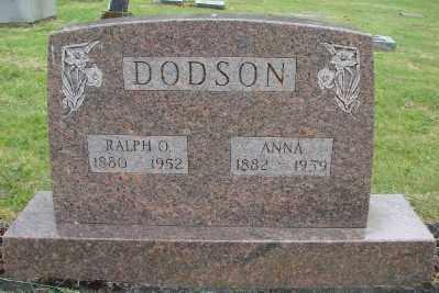 DODSON, ANNA - Polk County, Oregon   ANNA DODSON - Oregon Gravestone Photos