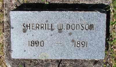 DODSON, SHERRILL W - Polk County, Oregon | SHERRILL W DODSON - Oregon Gravestone Photos