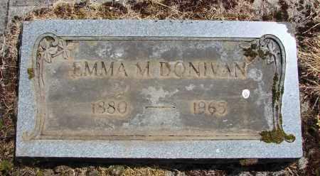 ROBINSON DONIVAN, EMMA M - Polk County, Oregon | EMMA M ROBINSON DONIVAN - Oregon Gravestone Photos