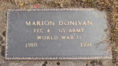 DONIVAN, MARION - Polk County, Oregon   MARION DONIVAN - Oregon Gravestone Photos