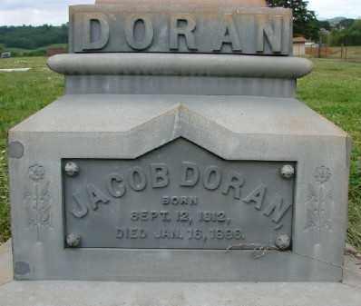 DORAN, JACOB - Polk County, Oregon | JACOB DORAN - Oregon Gravestone Photos