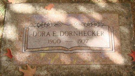DORNHECKER, DORA E - Polk County, Oregon | DORA E DORNHECKER - Oregon Gravestone Photos