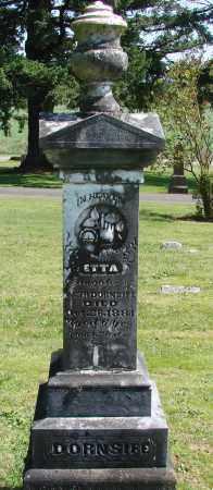 DORNSIFE, ETTA - Polk County, Oregon   ETTA DORNSIFE - Oregon Gravestone Photos