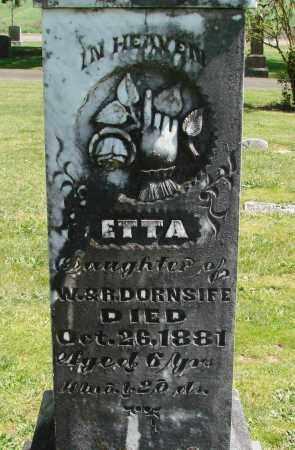 DORNSIFE, ETTA - Polk County, Oregon | ETTA DORNSIFE - Oregon Gravestone Photos