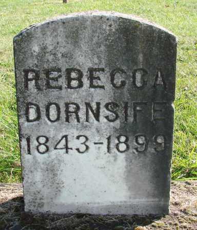 DORNSIFE, REBECCA - Polk County, Oregon   REBECCA DORNSIFE - Oregon Gravestone Photos