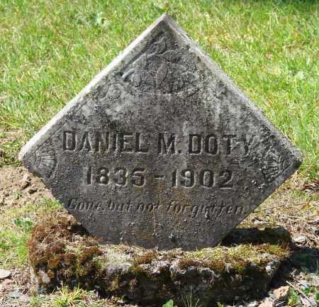 DOTY, DANIEL M - Polk County, Oregon | DANIEL M DOTY - Oregon Gravestone Photos