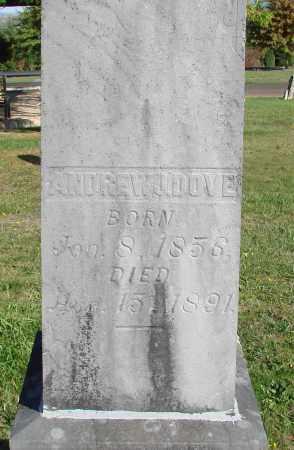 DOVE, ANDREW J - Polk County, Oregon | ANDREW J DOVE - Oregon Gravestone Photos