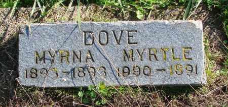 DOVE, MYRNA - Polk County, Oregon   MYRNA DOVE - Oregon Gravestone Photos