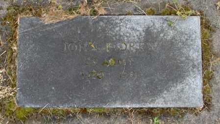 DREW, JOHN E - Polk County, Oregon   JOHN E DREW - Oregon Gravestone Photos