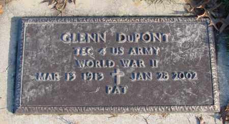 DUPONT (WWII), GLENN - Polk County, Oregon | GLENN DUPONT (WWII) - Oregon Gravestone Photos