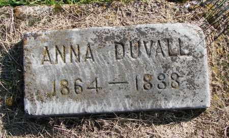 DUVALL, ANNA - Polk County, Oregon   ANNA DUVALL - Oregon Gravestone Photos