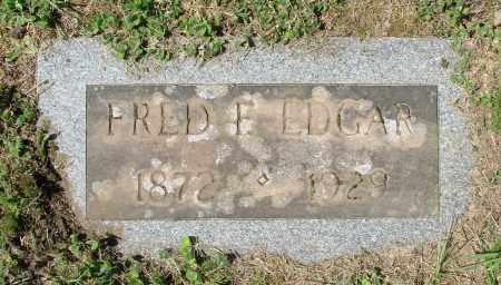 EDGAR, FRED FLYNN - Polk County, Oregon | FRED FLYNN EDGAR - Oregon Gravestone Photos