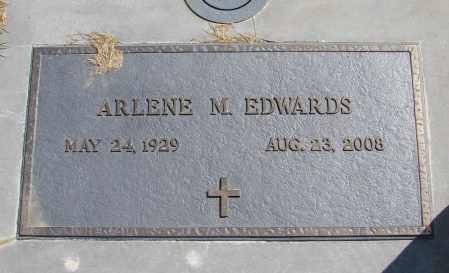 GILL EDWARDS, ARLENE M - Polk County, Oregon | ARLENE M GILL EDWARDS - Oregon Gravestone Photos