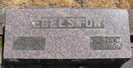 EGELSON, WINFIELD B - Polk County, Oregon | WINFIELD B EGELSON - Oregon Gravestone Photos